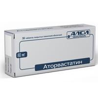 Аторвастатин Алкалоид, табл. п/о пленочной 40 мг №30