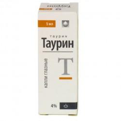 Таурин, капли глазн. 4% 5 мл №1